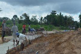 Jalan perbatasan Indonesia-Malaysia dibangun Rp4 miliar