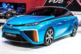 Toyota Luncurkan Kendaraan Tenaga Hidrogen 2015