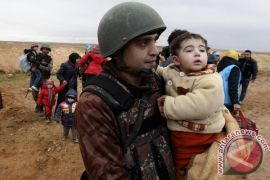 Palang merah internasional kirim bantuan ke Afrin, Suriah