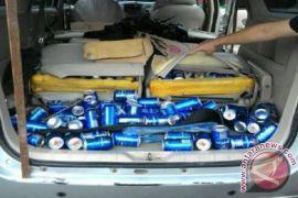 Polisi gagalkan penyelundupan minuman beralkohol asal Malaysia