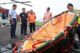 Helikopter waterbombing BPBD terguncang pasca turbulensi di KKU