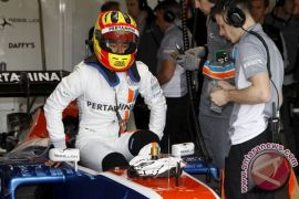 Rio Tempati Urutan 19 Sesi Kualifikasi GP Inggris