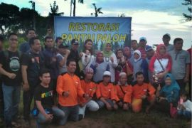 BEM Poltesa bersama warga Matang Danau deklarasikan jaga pantai