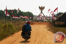 Pemerintah segera tuntaskan jalan paralel perbatasan Temajuk-Aruk