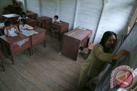 SDN 03 Desa Nanga Dua hanya miliki empat ruang kelas