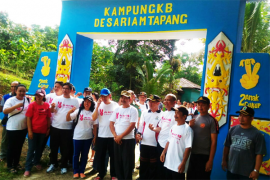 Tiga Desa Kapuas Hulu Dicanangkan Kampung KB