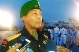 131 Perwira Kodam XII Tanjungpura Naik Pangkat