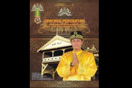 Syarif Machmud Alkadrie Dinobatkan Seebagai Sultan Pontianak