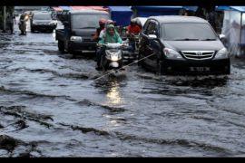Belum terjadi lonjakan pasien dampak hujan