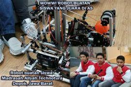 Wowwi Robot Buatan Siswa yang Juara di AS
