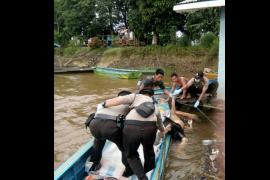 Mayat Mengapung Di Sungai Kapuas Bernama Muhtar