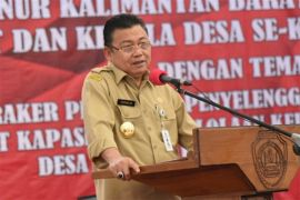 Gubernur Kalbar Minta Kades Ciptakan Lapangan Pekerjaan