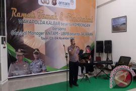 Olahraga Warnai Kunjungan Wakapolda Kalbar ke PT ANTAM