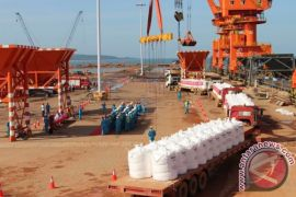 West Kalimantan favored with a surplus in international trade