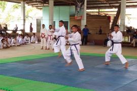 Sebanyak 270 Karateka Ikuti Kejuaraan Bupati Cup