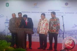 Presiden Resmikan Terminal Baru Supadio