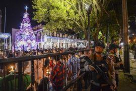 Misa Natal di perbatasan Indonesia - Malaysia aman