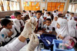Imunisasi massal Difteri Pontianak capai 80 persen
