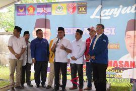 Edi Kamtono - Bahasan deklarasi maju Pilwako Pontianak