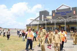 Operasional bandara Tebelian 26 april