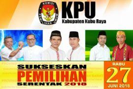 Tiga pasangan calon Bupati Kubu Raya sampaikan visi-misi