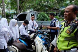 Polisi cegah anak di bawah umur gunakan sepeda motor