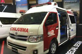 Toyota tampilkan 4 varian kendaraan komersial di GIICOMVEC 2018