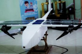 Drone tenaga surya meriahkan kulminasi matahari