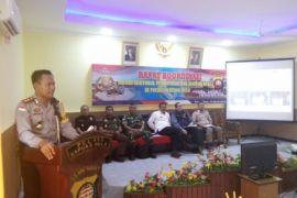 Rapat Koordinasi membahas persoalan perbatasan Indonesia - Malaysia