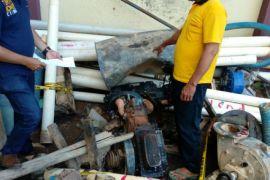 Polres Sanggau amankan pelaku dan peralatan tambang