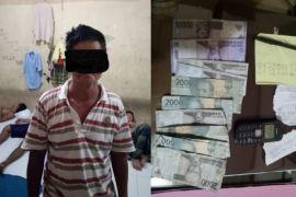 Polisi gerebek kakek penjual togel
