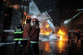Polisi selidiki penyebab kebakaran di Jalan Pak Kasih