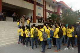 Ratusan mahasiswa Sintang pertanyakan realisasi pemekaran kecamatan