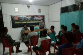 TNI - Polri sinergi wujudkan masyarakat Noyan sadar hukum