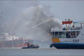 Kebakaran kapal penumpang