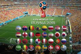 Stadion Piala Dunia Rusia rusak akibat hujan
