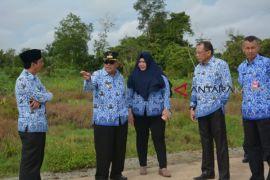Rusman Ali tinjau lokasi rencana pembangunan perkantoran
