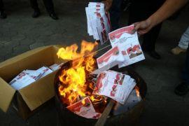 KPU Singkawang musnahkan belasan surat suara rusak