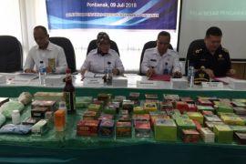 BBPOM Pontianak menyita puluhan ribu kemasan obat tradisional ilegal