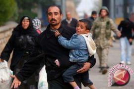 Orang di Kamp Pengungsi di Suriah hadapi kondisi berat