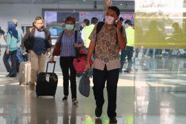 Aktivitas di Bandara Supadio normal