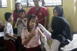 Capaian imunisasi MR di Pontianak Baru 34,7 persen