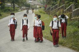 Belum ada permintaan masker dari pihak sekolah maupun Puskesmas