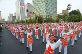 Ikut rekor dunia, senam poco - poco miliknya Indonesia