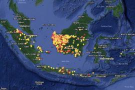 BNPB: sebanyak 1.061 titik panas di Kalbar