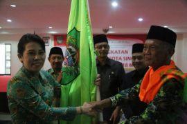 Pelepasan 110 JCH Singkawang menuju Asrama Haji Pontianak