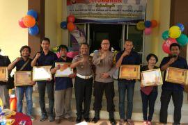 Satlantas Kayong Utara apresiasi jurnalis