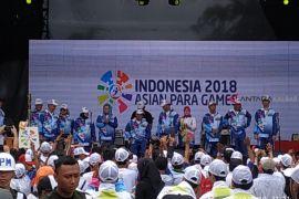 Pemkot Pontianak ucapkan terima kasih api obor Asian Para Games sambangi Pontianak