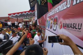 Kapolda Kalbar ajak masyarakat cipatakan Pemilu 2019 aman damai dan sejuk