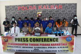 Polda-BNNP Kalbar gagalkan penyelundupan sabu-sabu jaringan internasional